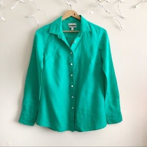 J. Crew NWT $79 Perfect Shirt button down front